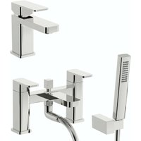 Connect WRAS basin and bath shower mixer tap pack - Kirke