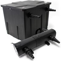 Wiltec - Kit SunSun de Filtration de Bassin Bio Filtre 12000l Stérilisateur UVC 18W