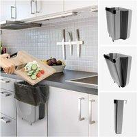 Kitchen Bin, Folding Bin, Kitchen Bin, Bathroom Bin, 9 L, Ha