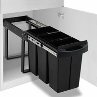 Kitchen Cupboard Pull-out Recycled Dustbin Soft-Close 36 L34640-Serial number