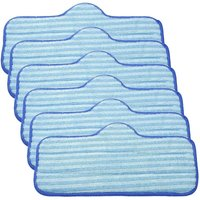 Kits of 6 Microfiber Pads for Dupray Neat Steam, for a Clean Steam Cleaner