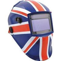Kennedy KWH100U Large View Weld/Grind Helmet Union Jack