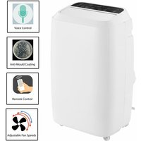 Mobile Air Conditioner 14000 BTU Remote Control Adjustable Digital Timer Remote
