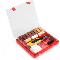 Laminate Repairing Kit Wax System Floor Worktop Sturdy Casing Chips Scratches Mending Tool Set