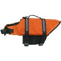 Dog Life Jacket Swimming Vest Swimsuit with Reflective Strips, Adjustable Belt Life Preserver Buoyancy Aid Flotation Suit for Extra Small Medium