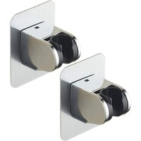 Drill-Free Hand Shower Bracket - Angle Adjustable - Super Power - Waterproof - Pack of 2 - Langray