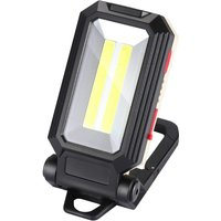 LangRay LED Work Light Camping Light Rechargeable LED Floodlight Rechargeable Work Light Lamp Workshop COB Torch Flashlight with Magnetic Base for