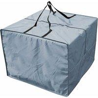 LangRay Living Room Cushions Storage Bag, Cushions Storage Bag Garden Protector Cover Garden Cushions Storage Bag 210D Oxford Waterproof, 81X81X61CM