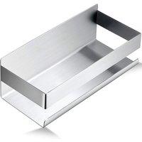 LangRay Self-Adhesive Shower Shelf Drill-Free Shower Basket Bathroom Shelf Stainless Steel SUS304