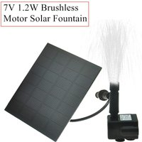 Solar Decorative Fountain, Floating Water Pump, Brushless Motor, Solar Garden and Pool Fountain - Langray