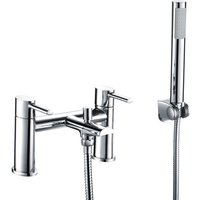 Neshome - Lano Bath Filler and Shower Mixer Tap with Hand Held