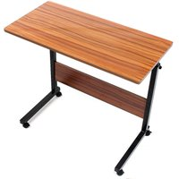 Laptop Desk 80CM Adjustable Stand Laptop Table Trolley Sofa Bed - AUGIENB