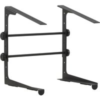 Youthup - Laptop Stand Black 30.5x28x(24.5-37.5) cm Steel