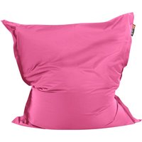 Beliani - Modern Pink Bean Bag Large Nylon Zipper Living Room Bedroom Garden