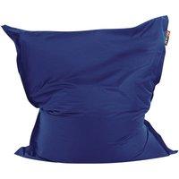 Beliani - Modern Dark Blue Bean Bag Large Nylon Zipper Living Room Bedroom Garden