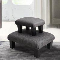 Bedroom Lounge Ottoman Pouffe Fabric Bench Foot Stool Seat C