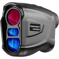Laser Rangefinder Meter Outdoor Golfs Telescope Digital Monocular Range-Finder Angle Speed Height Measuring Tool,model:Multicolor KM-B600H