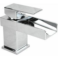 Laura Waterfall Basin Mono Mixer Tap - NESHOME