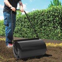 Lawn Roller Black 57 cm 43 L