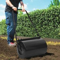 Lawn Roller Black 63 cm 50 L