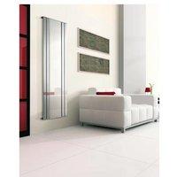 Lazzarini Empoli Chrome Vertical Designer Radiator with Mirror 1800mm x 600mm