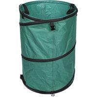 Leaf Bag 72L Heavy Duty Garden Bag Baseplate Waste Bag Lawn Bag Garden Waste Bag Reusable - WILTEC