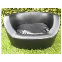 leather dog bed 66x54x36cm - MERCATOXL