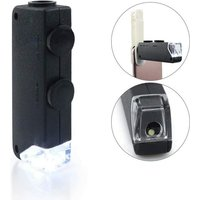LED pocket microscope 60x - 100x magnifying glass magnifying glass