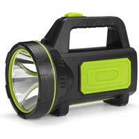 Maerex - LED Rechargeable Spotlight Torch camping garage home green without sidelight