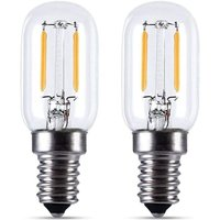 LED refrigerator bulb 2W, T22, 200LM, equivalent to a 15W incandescent lamp, warm white 2700K, 230V, refrigerator / salt lamp / with small LED E14,