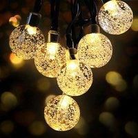 Perle Raregb - LED Solar Bubble Ball Bright Garland 7