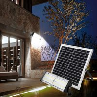 Outdoor LED Spotlight with Integrated Solar Panel 5000 lumens FLOOD - SUPERNOVA