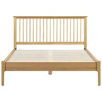 Lenora 4ft6 Double 135 x 190 Solid Oak Bed Frame