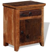 Leopold 1 Drawer Bedside Table by Brown - Union Rustic