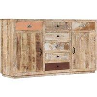 Levasy Solid Mango Wood Sideboard by Bloomsbury Market - Brown