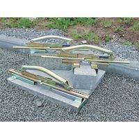 Porte dalles PPH Zone d'atteinte 220 - 505 mm Capacité de charge 60 kg poids propre 1,5 kg, électrogalvanisé - PROBST
