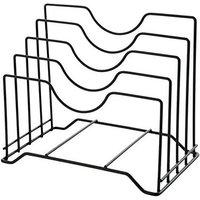 Lid Holder Storage Lid Pan Cupboard Pantry Rack Organizer Multifunctional Kitchen Cut Table Organizer Storage Bracket