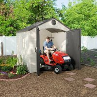 Lifetime 8x7.5 Heavy Duty Plastic Shed