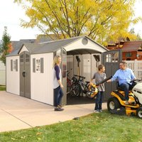 Lifetime 20x8 Heavy Duty Plastic Shed