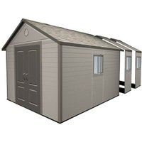 Lifetime 11x21 Heavy Duty Plastic Shed