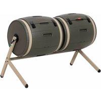 Double Bin Rotating Composter (100 gallon) - Lifetime