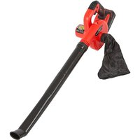 Cordless 20V Lightweight Leaf Blower and Dust Vaccum with Battery and Fast Charger - TRUESHOPPING