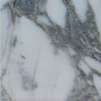 Liguni Round Kitchen Dining Table Marble or Granite Top Brass and Gun Metal Base Black Arabescato - Marble 110cm top diameter 75cm - NETFURNITURE