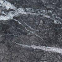 Netfurniture - Liguni Round Kitchen Dining Table Marble or Granite Top Brass and Gun Metal Base Black Grigio Carnico - Marble 130cm top diameter 75cm
