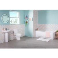Lima Bathroom Suite with 1700mm Bath