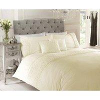 Rapport - Limoge duvet cover and pillowcase set - Cream - single