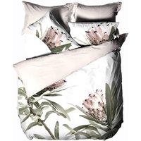 Alice Duvet Cover Set (Double) (Multicoloured) - Linen House