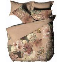 Flora Duvet Cover Set (King) (Multicoloured) - Linen House