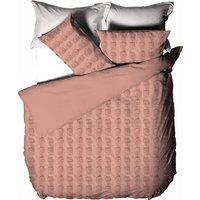 Haze Duvet Cover Set (Double) (Maple) - Linen House