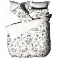 Luana Quilted Duvet Cover Set (Single) (Multicoloured) - Linen House